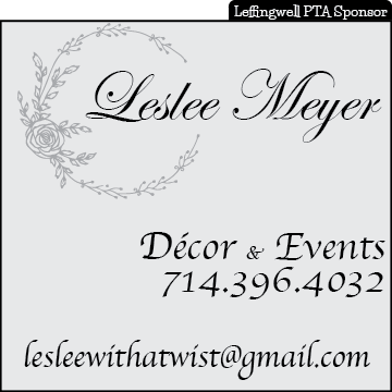 Leslee Meyer: Décor & Events